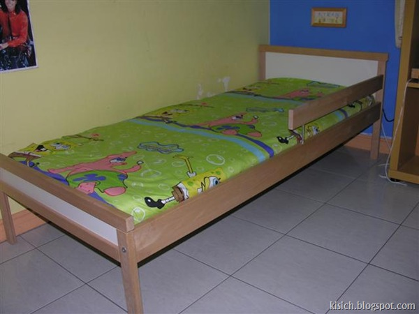 Kids Ikea Bed with Mattress $80.00 (Small)