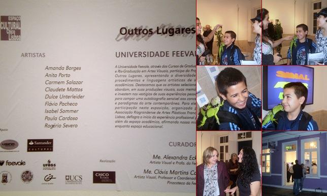 Exibir Exposição Outros Lugares - Universidade Feevale