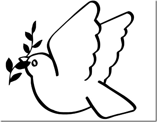 Peace Dove Coloring Pages