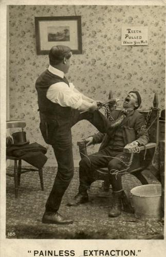 Fotos antiguas divertidas dentista