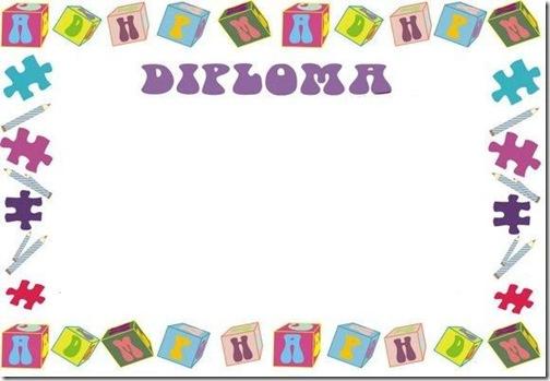 Diplomas escolares gratis para imprimir | Jugar y colorear