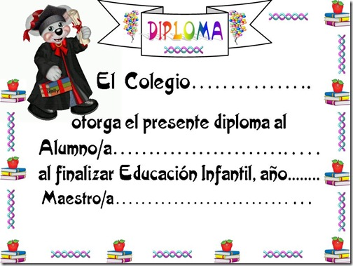 DIPLOMA FINAL DE INFANTIL