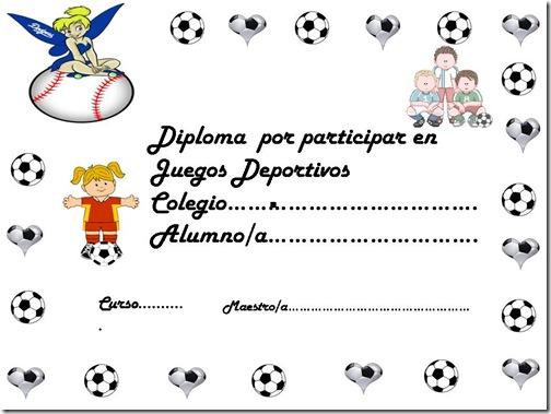Certificados Para Imprimir De Soccer