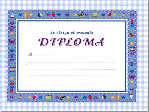Diplomas Escolares Para Imprimir