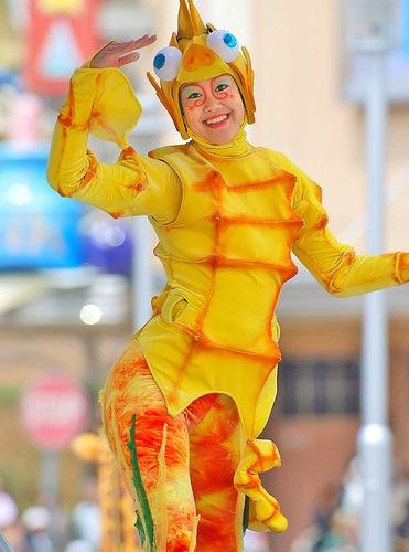 disfraz de caballito de mar (4)
