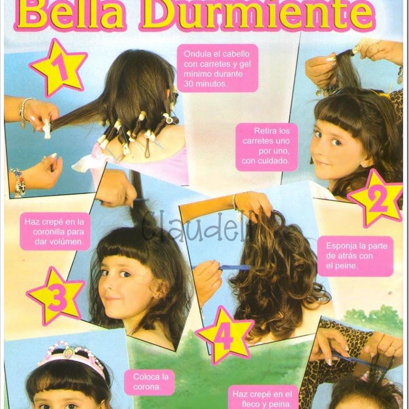 Los peinados de las princesas