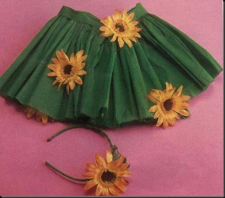 disfraz de flor muy fácil en papel crepé disfraces caseros ...