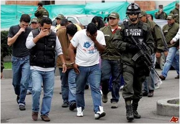 Los carteles de droga colombianos