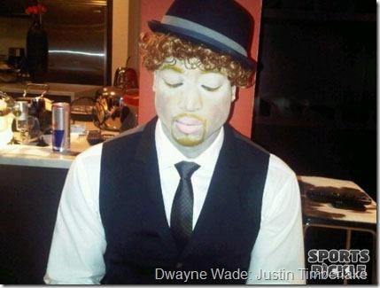 Dwayne Wade: Justin Timberlake