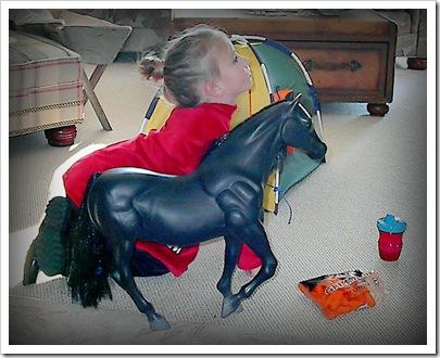 Becca as Horse11