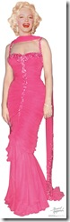 1012 Marilyn Monroe Pink Dress