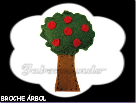 Broche árbol