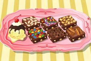 Screenshot of Cooking Game Brownie