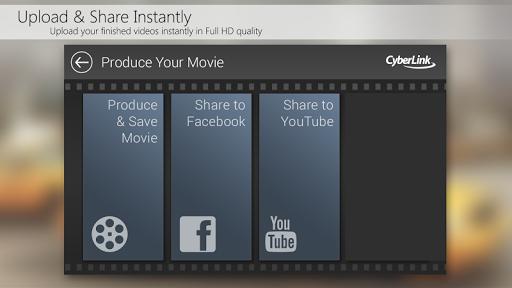 PowerDirector Video Editor App - screenshot