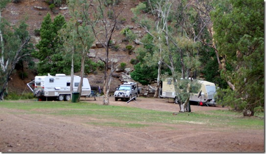 Camped at Warren Gorge with Chris & Val Martins