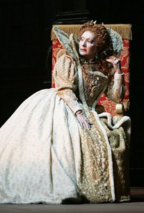 Nelly Miricioiu as Elisabetta in Donizetti's ROBERTO DEVEREUX at the Teatro Giuseppe Verdi in Trieste, Italy