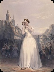 Jenny Lind, the Swedish Nightingale, as Amina