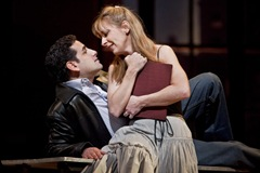 Natalie Dessay as Amina and Juan Diego Flórez as Elvino in the Metropolitan Opera production by Mary Zimmerman, March 2009