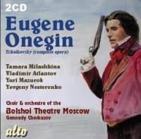 Tchaikovsky: YEVGENY ONEGIN (alto)