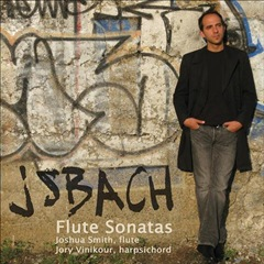 Johann Sebastian Bach: Sonatas for Flute & Harpsicord (DELOS)