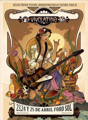 cartel vive latino 2010 bandas invitadas mexico