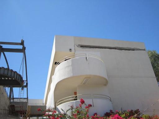 Edificio blanco UABC Mexicali