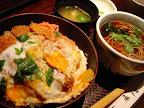 【渋谷ランチ】ロースかつ丼とそばセット(真希そば)