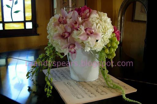 Brandy spears floral designer clustered french flower