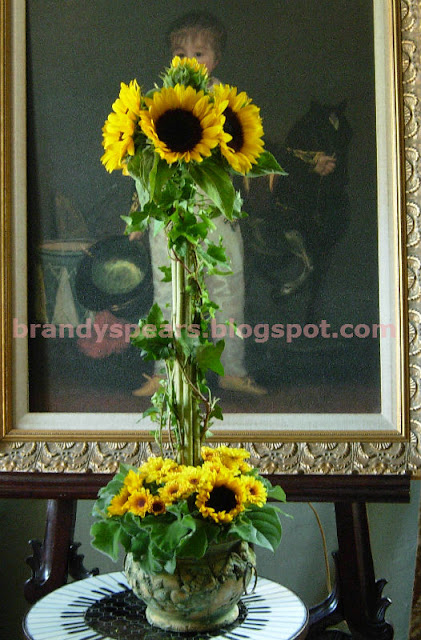 Brandy spears floral designer how to make a sunflower