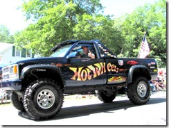 4th july parade hot wheels truck