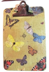 clipboard butterflies