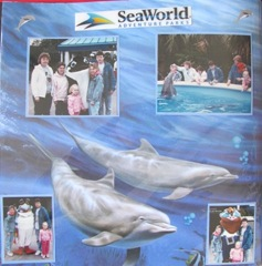 1986 Florida sea world first page left side
