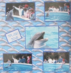 1986 Florida Sea World sm dolphin left side page