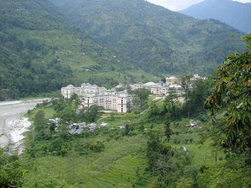 Thats the beautiful Sikkim-Manipal University