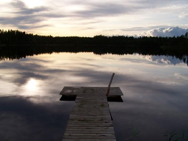 fotos de los mil lagos en Finlandia
