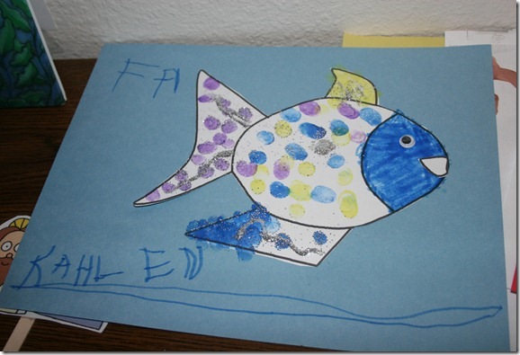 The young 39 ns start rainbow fish and the big blue whale for Rainbow fish and the big blue whale