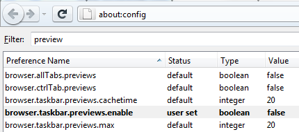 Firefox 4 About:config