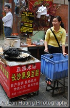 Deep-Fried Fermented (Stinky) Tofu - Changsha, Hunan, China