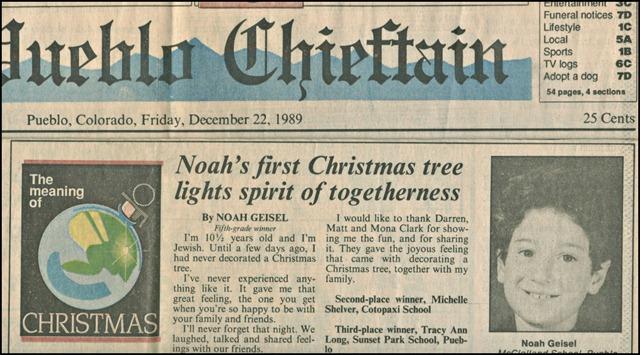 Noah's 1st published piece
