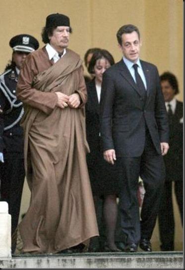 Gadafi-Sarkozy