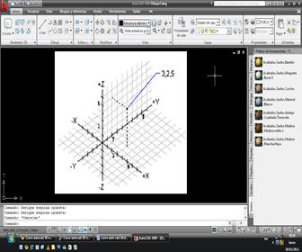autocad 3D - Coordenadas X, Y, Z