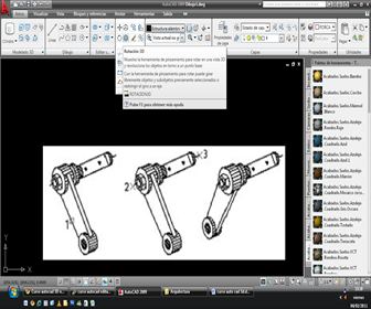 CURSO AUTOCAD 3D ONLINE comando ROTATE 3D