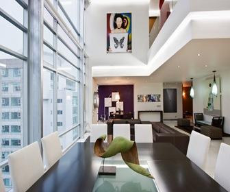 Departamento duplex penthouse dd arquitectura en for Departamento del interior
