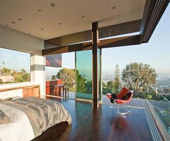 Fachadas de Cristal y Acero por estudio Assembledge Hollywood Hills