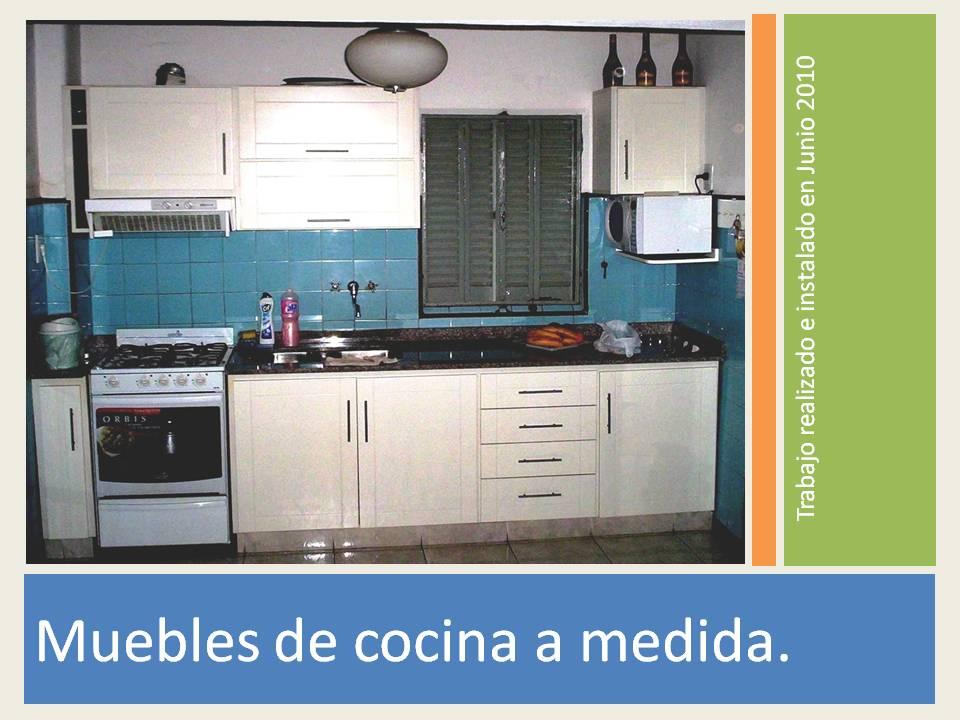 Muebles de cocina a medida imagui for Cocinas muebles a medida