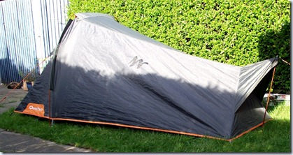 I got this tent on the strength of recommendations of several Formers most notably a gent who goes by the name of Twiglegs. & Lost in England: Review: Decathlon T2 Ultralight Pro Tent.