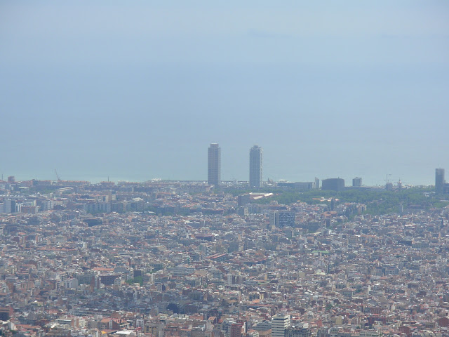 Barcelona des del Tibidabo..