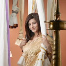 Sruthi Hassan in Saree Cute Photos