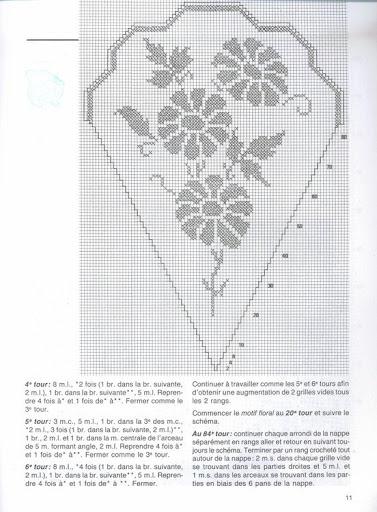 مفارش للطاولات بالكروشي مع الباترون 08---grafico.jpg