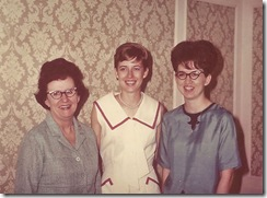 Mom, me and Sue